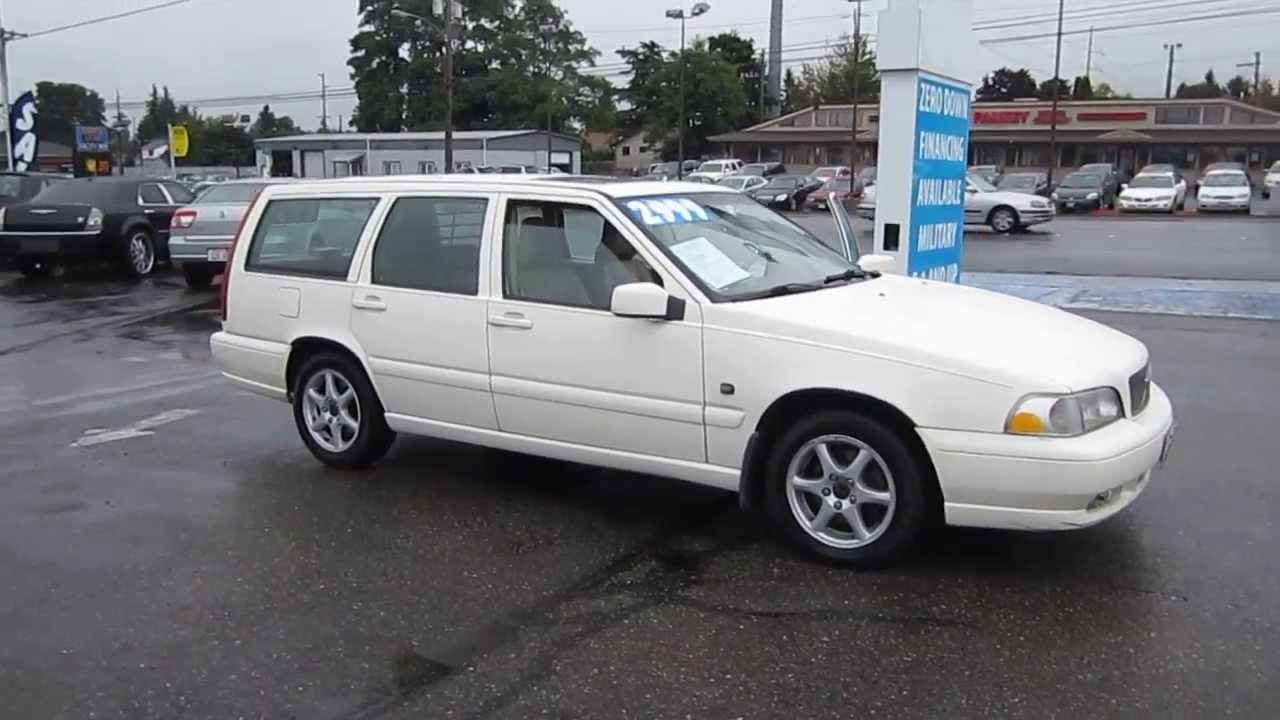 2000 Volvo V70, White - STOCK# 11240 - YouTube