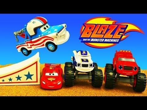 Blaze Monster Truck Cartoon New Youtube