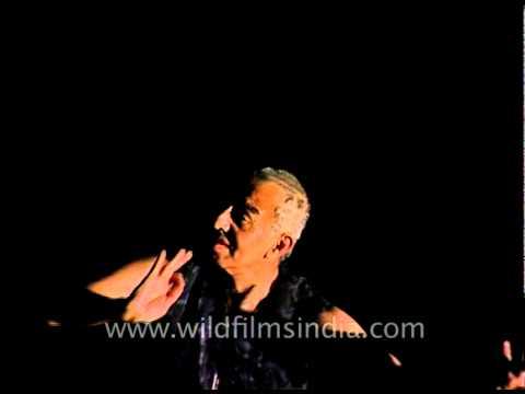 Astad Deboo performing in his own inimitable style