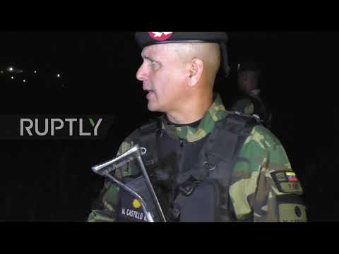 Venezuela: Military execute border patrols amid mounting pressure on govt.