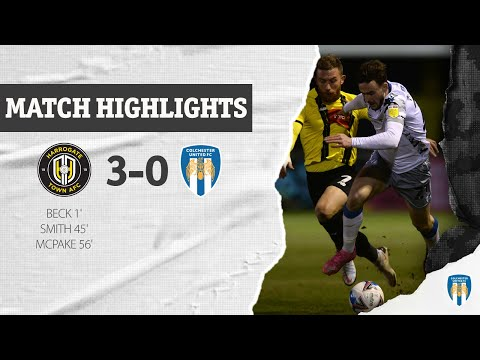 Harrogate Colchester Goals And Highlights
