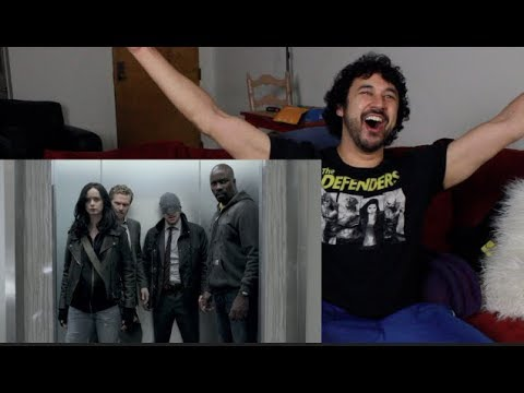 Marvel's THE DEFENDERS - 'Episode 3/ HALLWAY FIGHT' REACTION!!!