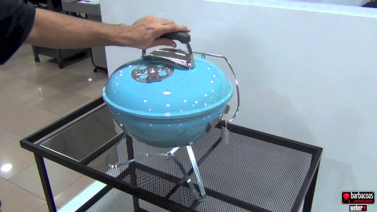 Barbacoa weber smokey joe premium port til de carb n blue - Barbacoas portatiles de carbon ...