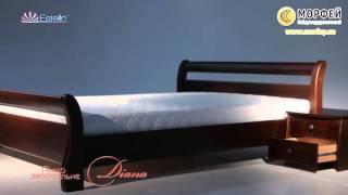 видео Купить деревянную кровать из массива натурального дерева