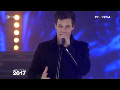 Wincent Weiss - Musik Sein LIVE (Silvester Party Brandenburger Tor Berlin 2016)
