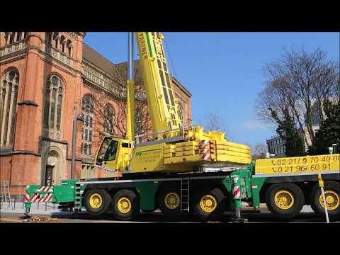 Liebherr Mobile Crane LTM 1300 6 1 Inspection Steeple
