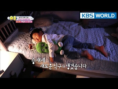 Seungjae has a new family member! [The Return of Superman/2018.01.28]