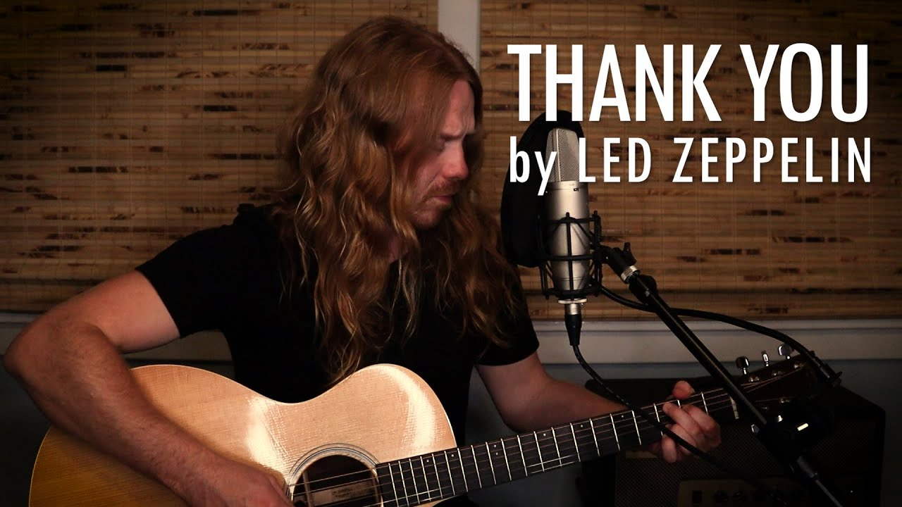 """""""Thank You"""" by Led Zeppelin - Adam Pearce (Acoustic Cover)"""