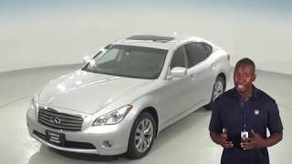 A95706TR - Used, 2013, INFINITI M37 X, AWD, Silver, Test Drive, Review, For Sale -