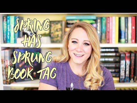 SPRING HAS SPRUNG BOOK TAG