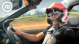 'Lube Cannons' make Paddy crash his car | Top Gear: Series 28