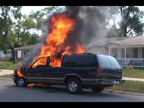 Police car on fire gif 10