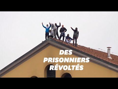 À cause des mesures prises contre le coronavirus, les détenus italiens se révoltent