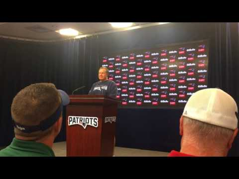 """Bill Belichick drops """"InstantFace"""" reference prior to first Patriots training camp practice"""