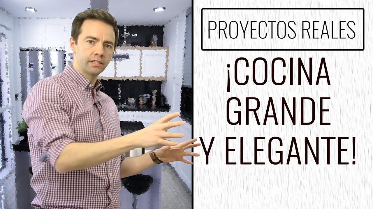 COCINA GIGANTE CON ISLA! | Diseño de Cocinas - YouTube