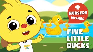 Five Little Ducks and More Nursery Rhymes for Kids | KIDSPlaytime Kids songs and Nursery Rhymes