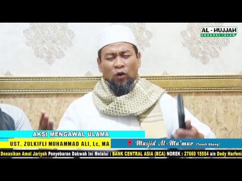 (LIVE)  Aksi Mengawal Ust. Zulkifli Muhammad Ali, Lc, MA