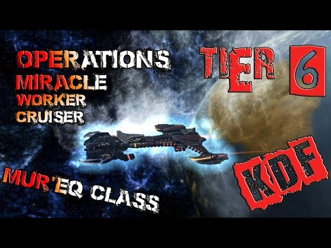 Operations Miracle Worker Cruiser – Mur'Eq class [T6] – with all ship visuals - Star Trek Online