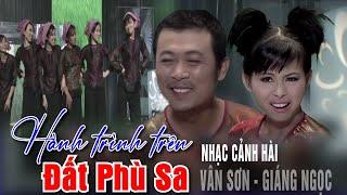 Nhạc cảnh hài : Hành trình trên đất phù sa- Vân Sơn, Giáng Ngọc - Show Mẹ & Quê Hương | Vân Sơn 39
