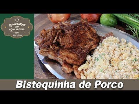 Bistequinha de Porco - Lembranças com Água na Boca - Chef Taico