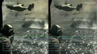 Modern Warfare 3 Xbox 360/PlayStation 3 Frame-Rate Comparison