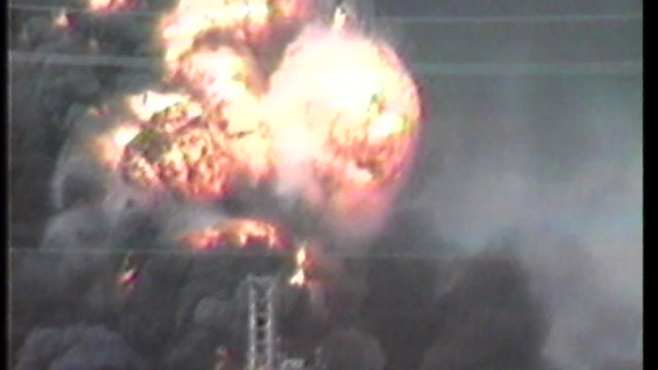 Huge explosion and fire killed 23 people October 23 1989