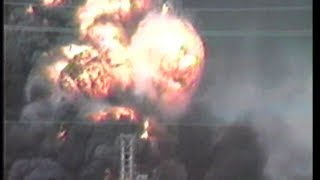 Huge explosion and fire killed 23 people, October 23, 1989