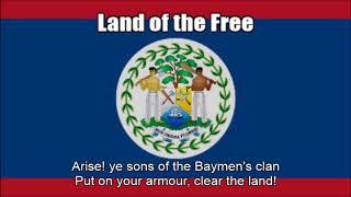 Video National Anthem of Belize (Land of the Free) - Nightcore Style With Lyrics download MP3, 3GP, MP4, WEBM, AVI, FLV Juni 2018