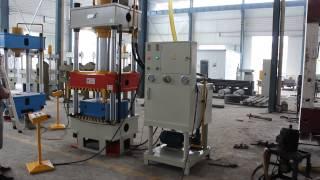 Wheelbarrow Making Machine 4 Column Hydraulic Press Machine 315ton