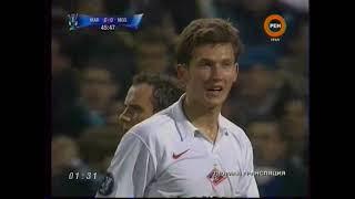 13 02 2008 Кубок УЕФА 1 16 финала Первый матч Олимпик Марсель Франция Спартак Москва