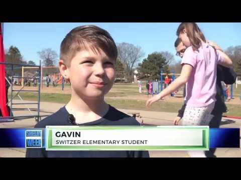 NEWS 4.23.2018:  Circus at Switzer Elementary School