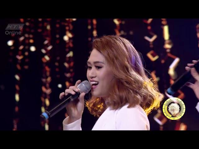 Tiết mục tranh ghế vàng của Jolie Phương Trinh  HTV NHẠC HỘI SONG CA MÙA 2  NHSC #2