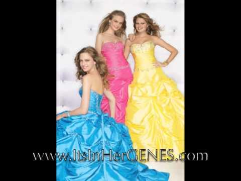 2009 flirt prom dress collection