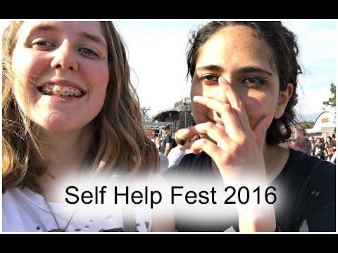 Self Help Festival 2016 Vlog || Morgan Noel