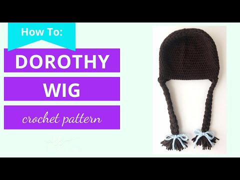 Dorothy Wig Tutorial (easy)