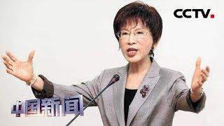 [中国新闻] 洪秀柱挑战台南深绿选区民代 蓝营振奋绿营震撼 | CCTV中文国际
