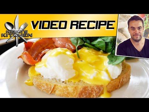 HOW TO MAKE EGGS BENEDICT - VIDEO RECIPE