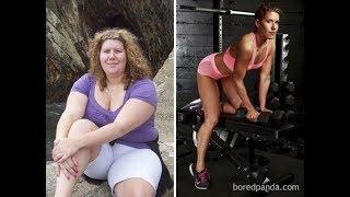 Трансформация тела  - примеры того, на что способны желание похудеть и упорный труд