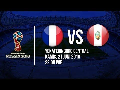 Jadwal Live Trans TV Pertandingan Piala Dunia 2018: Prancis Vs Peru