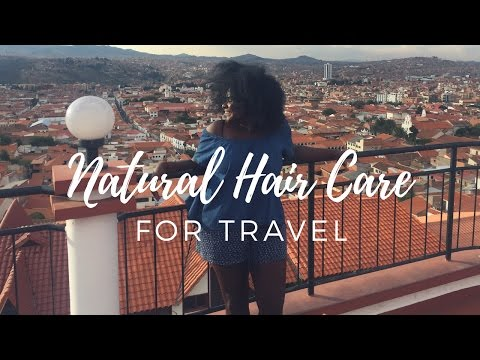 Natural Hair Care For Travel | Natural Hair Nomad
