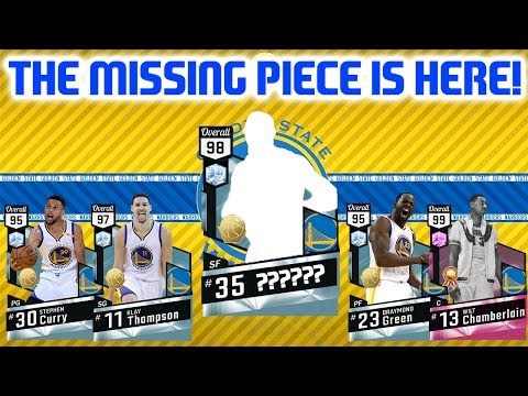 THE FINAL PIECE IS HERE! TOURNAMENT READY LINEUP UPDATE! NBA 2K17 MYTEAM