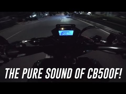 HONDA CB500F With R9 Exhaust INDONESIA