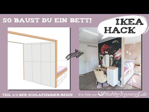 Stauraum-Bett selber bauen ☆ DIY Schlafzimmer-Projekt TEIL ...
