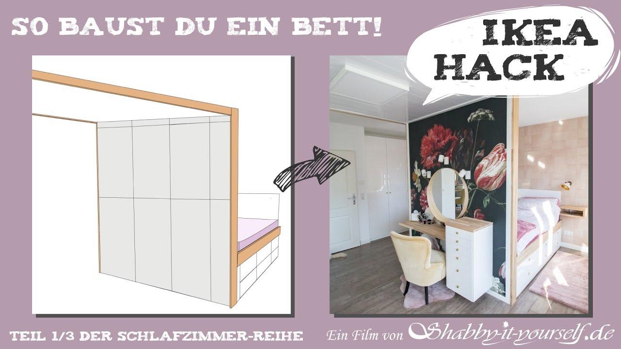 Stauraum Bett Selber Bauen Diy Schlafzimmer Projekt Teil 1