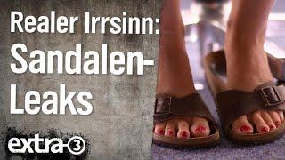 Realer Irrsinn: Birkenstock-Leaks in Bielefeld | extra 3 | NDR