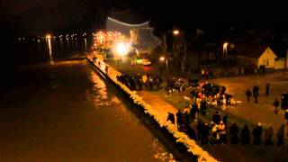 Sremska Mitrovica - Odbrana nasipa od poplave 17.05.2014 (00:00 h)