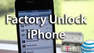 Factory Unlock iPhone 4/4S Free AT&T - T Mobile, GSM Carrier - Off Contract - Save Jailbreak
