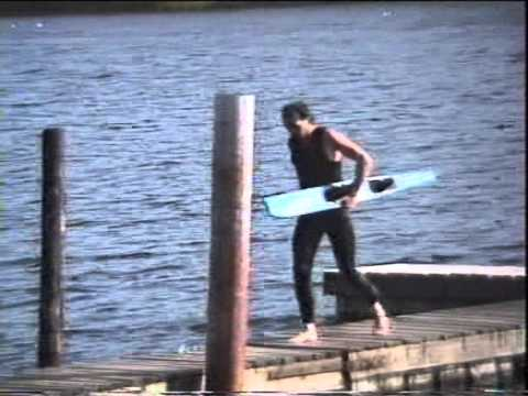 Waterskiing at wiggys