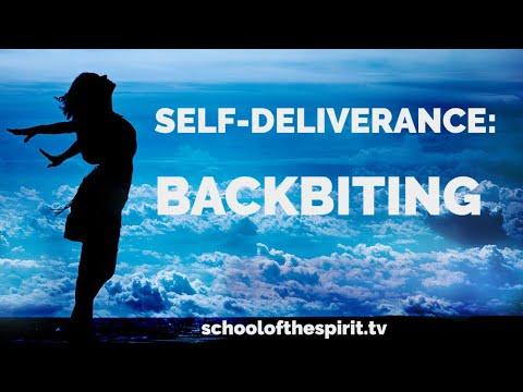 Deliverance from a Spirit of Backbiting | Self-Deliverance Prayers