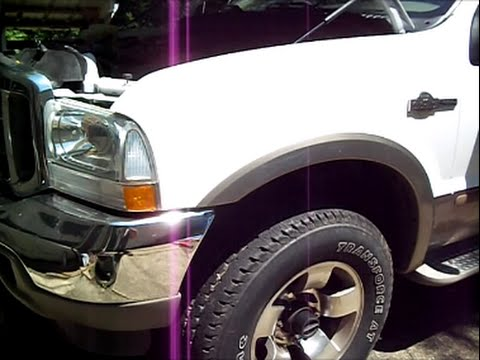 Ford F250 Super Duty 4x4 04 Hubs Locked In All The Time